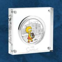 Tuvalu - Die Simpsons™ - Lisa - 1 $ 2019 PP / Polierte Platte - Silber - The S .