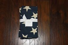 Pottery Barn American Flag Star Napkins 4 in set - new with tags.
