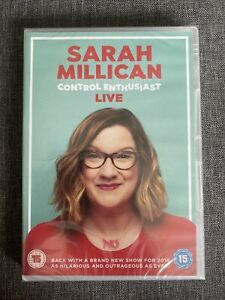 Sarah Millican Control Enthusiast - Live (2018) NEW SEALED DVD