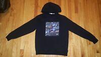 Mens J Cole 2014 Forest Hills Drive Black Pullover Hoodie Sweatshirt Size Medium