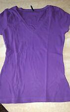 AMISU T-Shirt lila Gr.38/ M für  Damen/ Mädchen