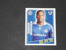 107 DIDIER DROGBA CHELSEA BLUES TOPPS PREMIER LEAGUE FOOTBALL 2008-2009 PANINI