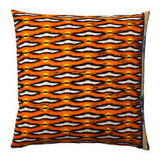 IKEA GLODANDE - Cushion Cover Orange Linen Cotton 26 x 26 ""