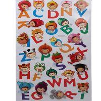 3D Kinder Wandsticker Wanddeko Wandtattoo Wandaufkleber Alphabet