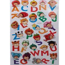 3d enfants sticker déco mural murale Alphabet