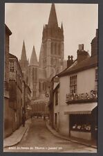 Postcard Truro Cornwall early shop front of H Opie at St Marys Street RP Judges