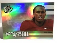 2011 Julio Jones Rookie Lot (5). Press Pass #CL-9, #94, #3,and Topps RR #CC-GJ,