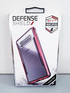 Samsung Galaxy S10 X-Doria Defense Shield Red Anodized Metal Case Cover New