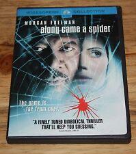 Along Came a Spider (DVD, 2001, Checkpoint) MORGAN FREEMAN, MONICA POTTER