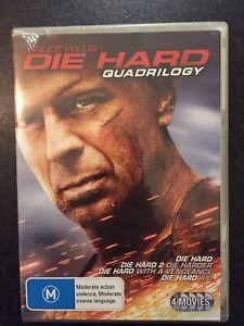 Die Hard Quadrilogy Bruce Willis DVD [M] 4 Movies DVD
