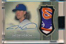 2017 Topps Dynasty * JACOB DEGROM * On Card Auto Game Used LOGO Patch * #2/5