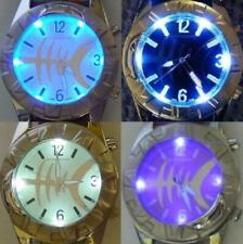 Fishbone LED Watch collectors item Reloj Uhr Horloge Orologio Montre Kolla på