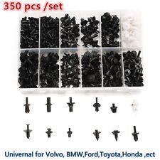 Plastic 350pcs Car Push Pin Rivet Trim Clip Panel Interior Assortments Universal