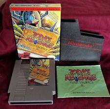 Vintage 1994 ZODA'S REVENGE Star Tropics II Game w Box & Book Nintendo NES REV-A