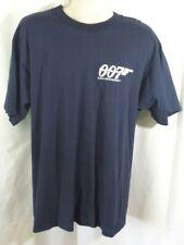 007 Tomorrow Never Dies 1997 Pierce Brosnan Movie Promo T-Shirt Size XL