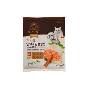 Dog Food Snack Jung Gwan Jang Ginseng, Salmon, and White Fleshed Fish food (1kg)