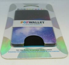Authentic PopSockets Popwallet - GALAXY - Cell Phone Pop Wallet