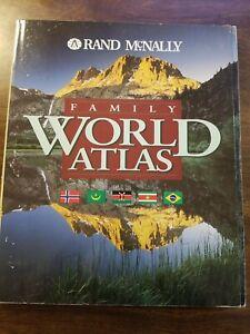 Family World Atlas by Rand McNally Staff