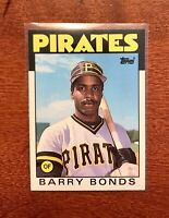 1986 Topps Traded BARRY BONDS #11T Rookie Card RC Pittsburgh Pirates MLB