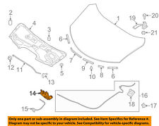 NISSAN OEM 14-16 Rogue Hood-Lock Latch 656014BA0A