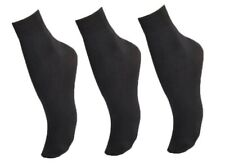 Zest 2 Pack Black Microfibre Ankle Socks 4-7