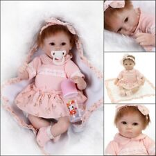 45cm18'' Reborn Bambole Morbido Silicone Bambole Realistico Girl Doll Regalo Toy