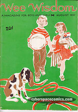 Wee Wisdom vol. 64 #1 FN august 1957 - christian magazine for boys and girls