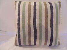 Designers Guild 100% Linen Fabric Brera Rigato Noir Cushion Cover