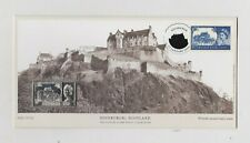 Edinburgh Scotland Silver Stamp Ingot Stamp Cover Set In Mint Condition.