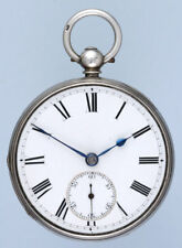 Silver Fusee Lever Pocket Watch with 30 Tooth Escape Wheel