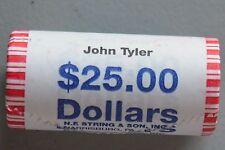 ~H/T~ 2009 P JOHN TYLER GOLD BU $25.00 ROLL ~CHEAPEST ON THE INTERNET~