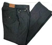 Tommy Hilfiger Womens Jeans Dark Grey Straight Leg Stretch US 8 UK 12 W30 IL 32