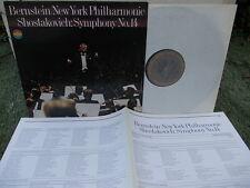 CHOSTAKOVITCH SHOSTAKOVICH: Symphony n°14 > New York Bernstein / CBS digital NM