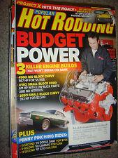 June 2008 Popular Hot Rodding: Budget Power 3 Engine Builds, '74 Dart, '67 GTO