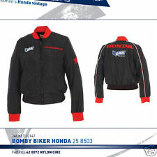 BOMBER BIKER DONNA UFFICIALE HONDA RACING BY GAS TG.S