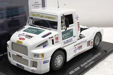 FLY 201101 SISU SUPER TRUCK FIA ETRC 2011 NEW 1/32 SLOT CAR IN DISPLAY CASE