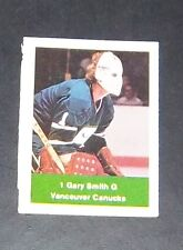 loblaws nhl action players 1974 -75 stamp  Gary Smith