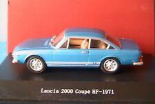 LANCIA 2000 COUPE HF 1971 BLUE VINCENNES STARLINE 514149 1/43 BLEU BLAU AZURE