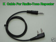 Radio-tone Repeater Cable for Kenwood Puxing Baofeng UV-5R UV-82  KG-UVD1P
