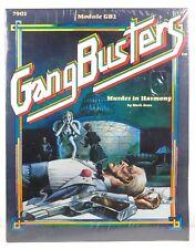 Murder in Harmony (Gangbusters module GB2) Mark Acres Gangbusters TSR Hobbies