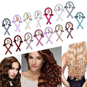 Heatless Curling Rod Headband Curler Women Soft Headband Wave Formers DIY