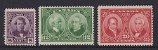CANADA - 1927 CONFEDERATION HISTORICAL SET MNH SG.271-3 (REF.D192)