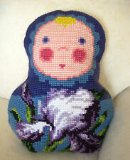 Collection D'Art Cross Stitch Cushion Kit: Baba Iris CD5049