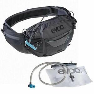 Evoc Hip Pack Pro 3L + 1.5L Bladder Black/Carbon Grey Bag