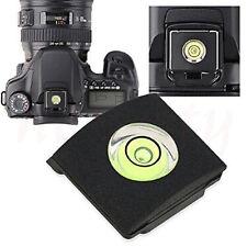 5Pcs Flash Hot Shoe Cover Cap Bubble Spirit Level For Canon Nikon Camera