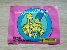 Panini 1 Tüte The Simpsons Bustina Pack Pochette Sobre Images Autocollantes