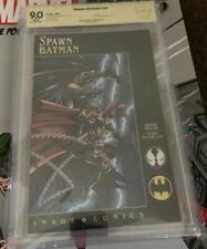Spawn / Batman CBCS 9.0, Signed By Frank Miller. Rare Signature. (CGC, PGX)