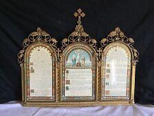 Magnifique Canon De Messe Ou D'autel En Bronze Doré Xix