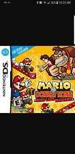 Mario vs Donkey Kong Mini-Land Mayhem (Nintendo DS, 2010)    COVER ONLY