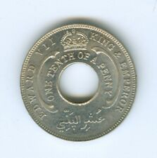 BRITISH WEST AFRICA 1908 1/10 PENNY--UNCIRCULATED